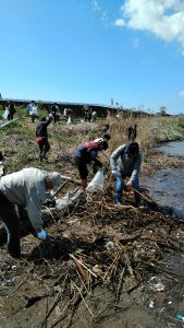 河川清掃2018⑦